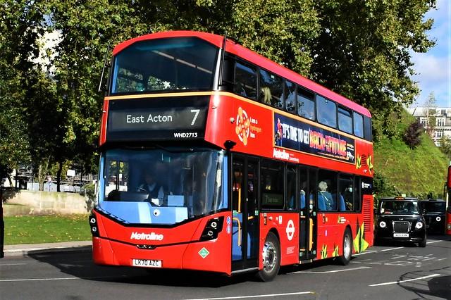 LK70 AZC (WHD2713) Metroline London