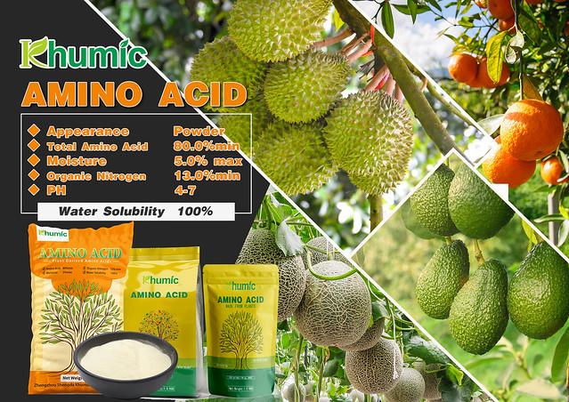 Amino acid 80%min produced by Khumic