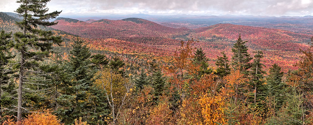 View from Whiteface Veterans' Memorial Highway.