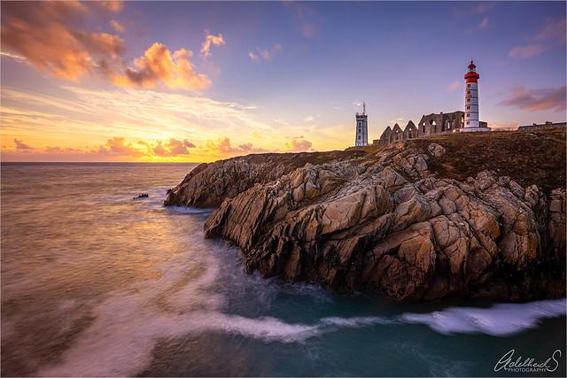Sunset in Bretagne/Brittany, France