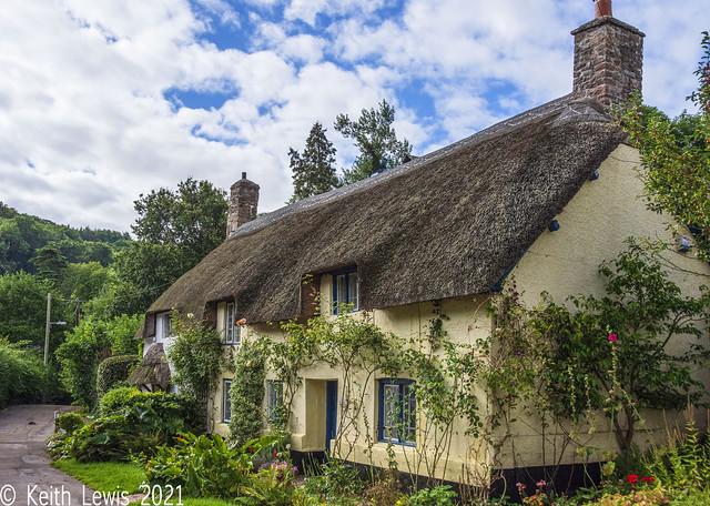 A cottage in Dunster