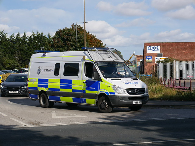 Humberside Police 'Op Galaxy' POU YX58 HFU