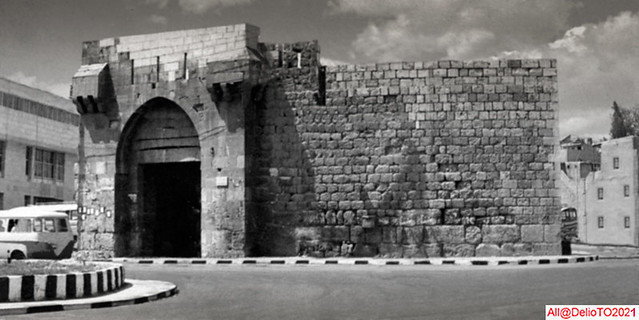 Wall of Damascus at the Thomas Gate