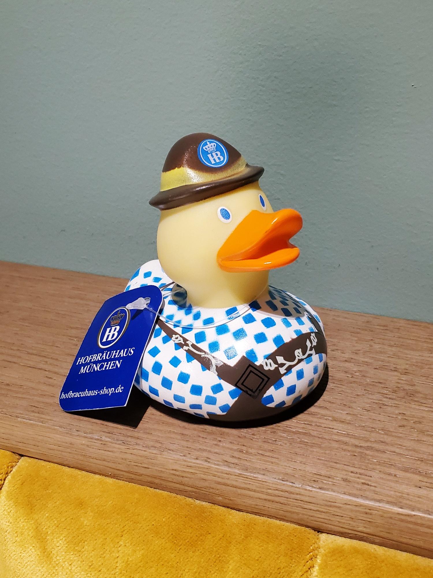 Hofbrauhaus rubber duck