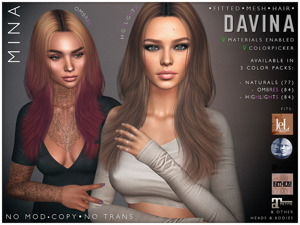MINA Hair – Davina for UBER