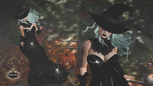 ✿* Exclusive for SWANK Event October round - I am a witch with AnaStyle - StunnerOriginals - WILD Makeup studio *✿