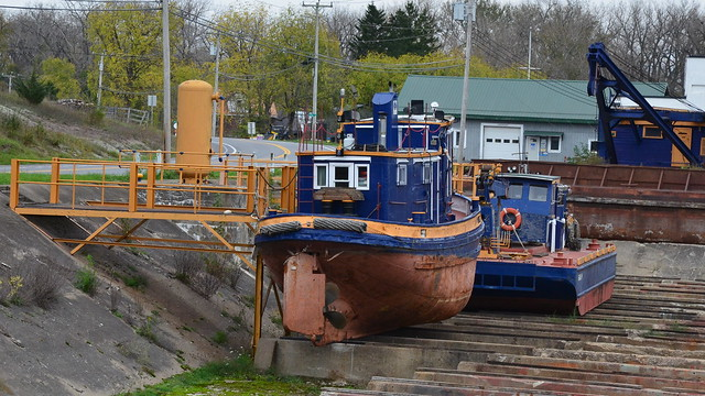 Erie Canal drydock - Newark, NY