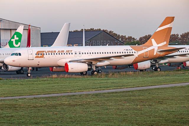 Super Air Jet / A320 / OE-ILW / LFMT