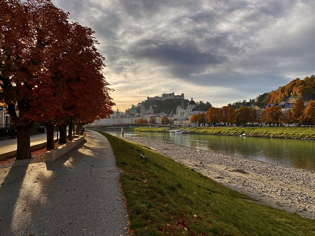 Autumn morning in Salzburg