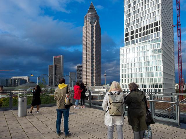Hochhausschauen in Frankfurt