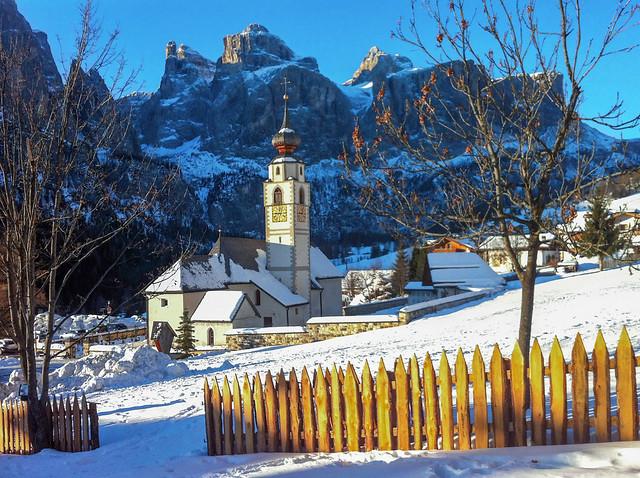 Inverno a Colfosco (gennaio 2012)
