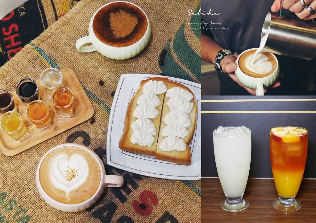 新北永和隱藏版好吃下午茶點心推薦蜂巢咖啡自家烘焙館永貞路咖啡 (3)