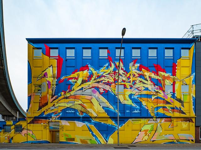 Graffiti Nordkanalstraße