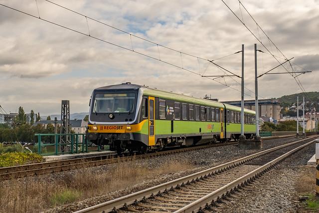 628 304-7 928 304-4 RegioJet Ústí nad Labem Czech Republic 12.10.21 ii