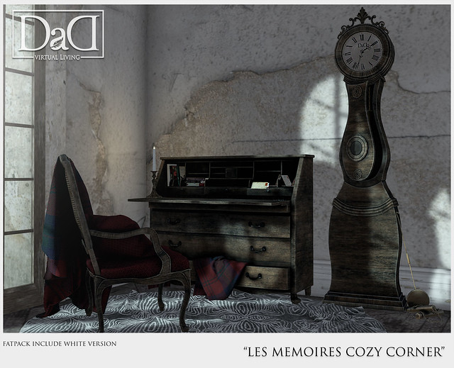 Les Memoires Cozy Corner Set for UBER