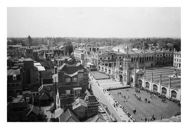 FILM - view from the church tower