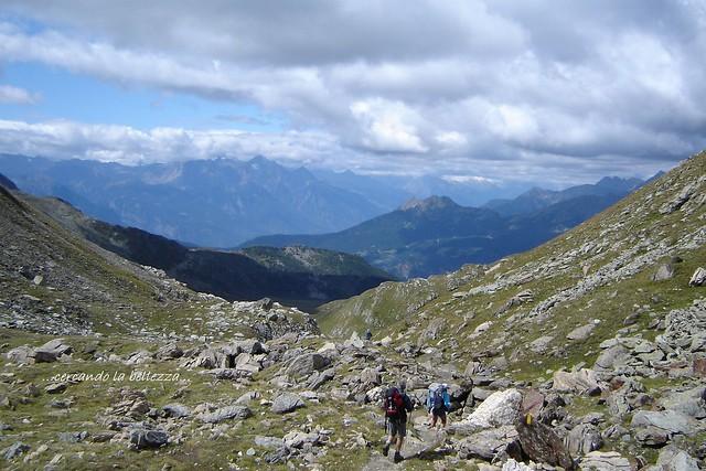 COL DI NANA, un luogo privilegiato per osservare i monti del Gruppo del Monte Rosa. Valtourneche / Val d'Ayas, ITALIA.
