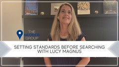 Setting Standards Before Searching with Lucy Magnus