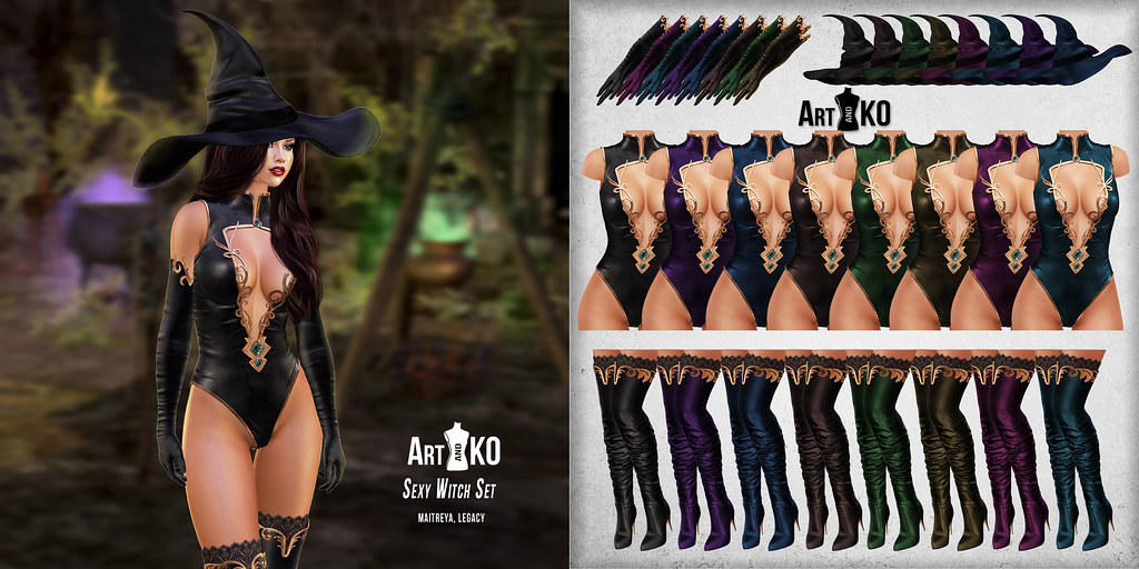 Art&Ko – Sexy Witch Set – The Fantasy Room