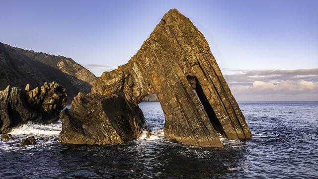 Blackchurch Rock: morning light