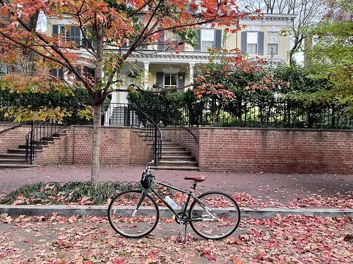 bike parking in Georgetown