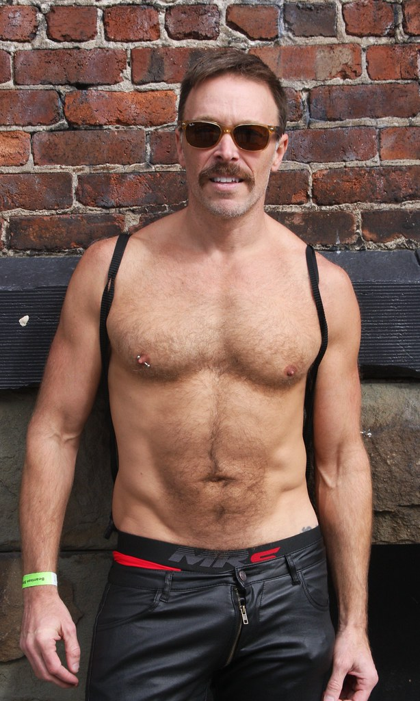 HOT, HANDSOME & HAIRY HUNK ! photographed by ADDA DADA ! ~ BEARRISON  STREET FAIR 2021 !  (safe photo (50+ faves))