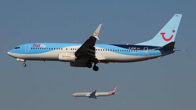 TUIfly, D-ATUO,MSN 41661,Boeing 737-8K5, 25.09.2021,FRA-EDDF, Frankfurt