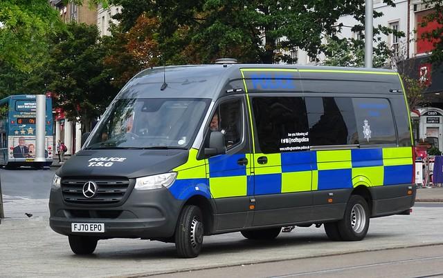 Nottinghamshire Police - FJ70 EPO
