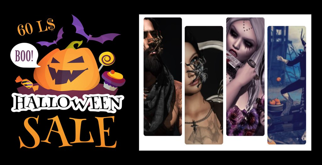 Halloween Sale 60 L$