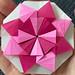 """Mater Intemerata"" modular origami (1 of 3 variations)"
