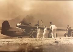 World war 2 at Kaneohe Bay, Oahu, Hawaii