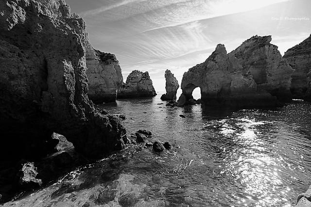 L'Algarve en n&b