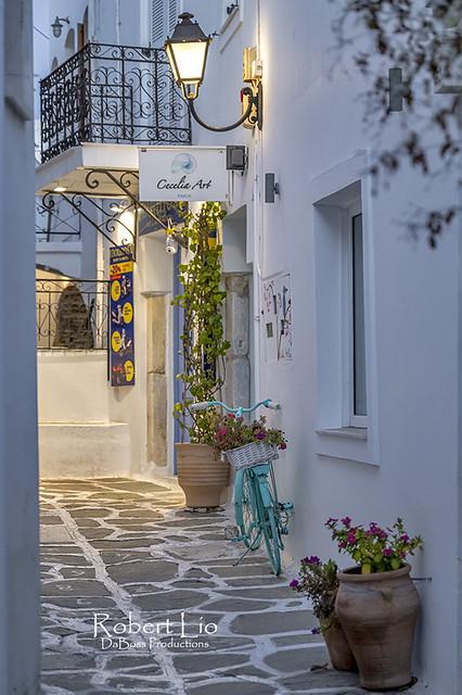 Alleys of Paros Island