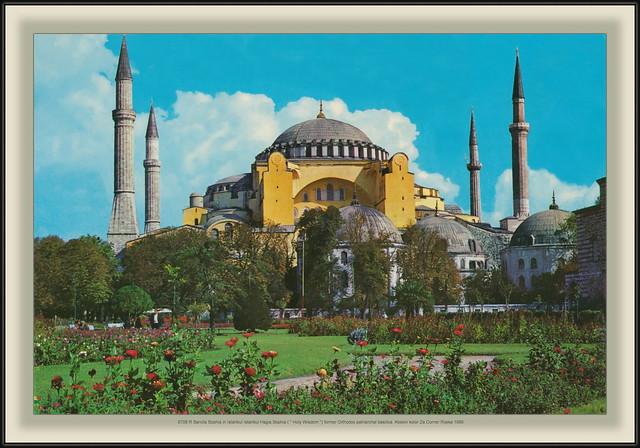 8708 R Sancta Sophia in Istanbul Istanbul Hagia Sophia (