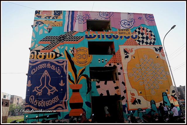 11013 - Kannagi Nagar Wall art series   10/17