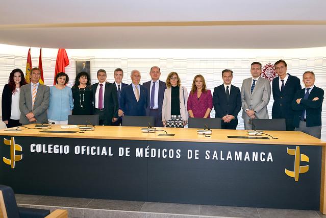 Toma de posesión Junta Directiva COM Salamanca 2021
