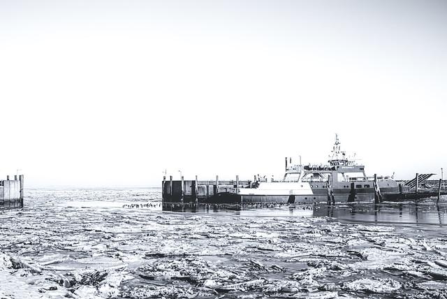 le ferry pour Spiekeroog