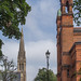 New West End Synagogue And St. Matthew's Church - Bayswater