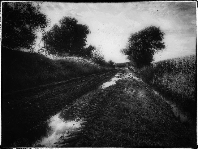 The old, muddy road…