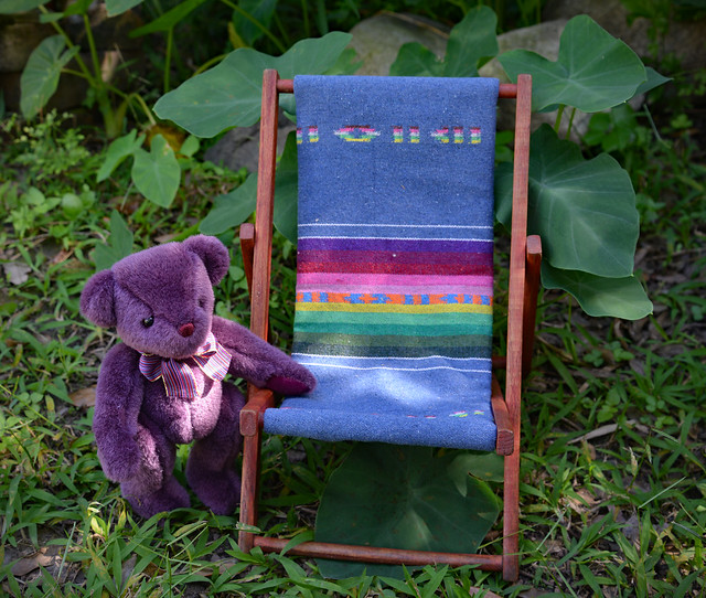 Lilac Finds a Special Chair