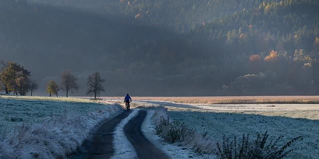 lonly biker