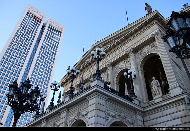 Alte Oper & Opernturm, Frankfurt, Germany