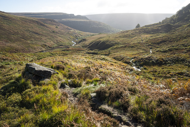 The Pennine Way at Crowden