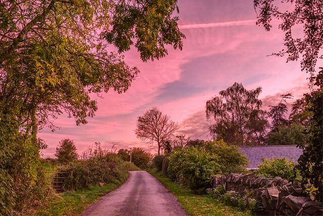 Twilight at Hawkinstown