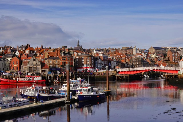 Morning light on a cold Whitby Harbour! (in explore 25.10.21)