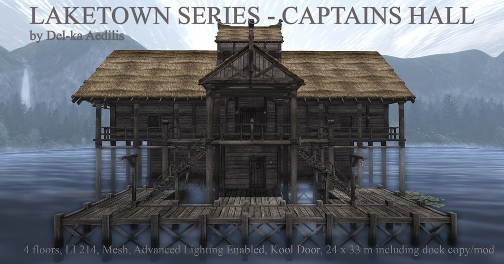 Laketown Series – Captain`s Hall
