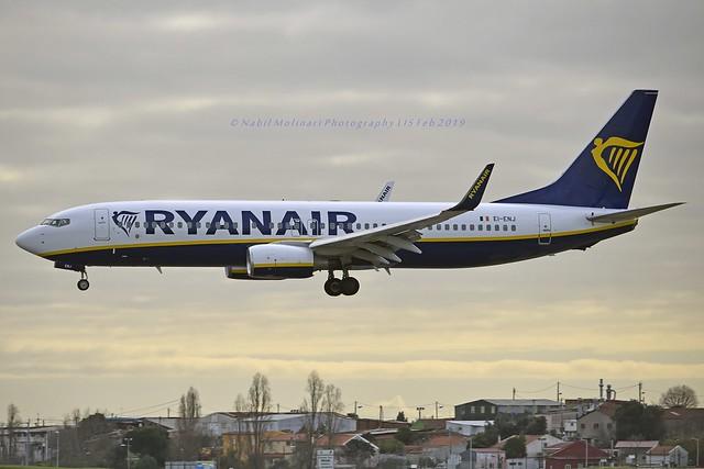 Ryanair EI-ENJ Boeing 737-8AS Winglets cn/40301-3516 @ LPPT / LIS 08-02-2019
