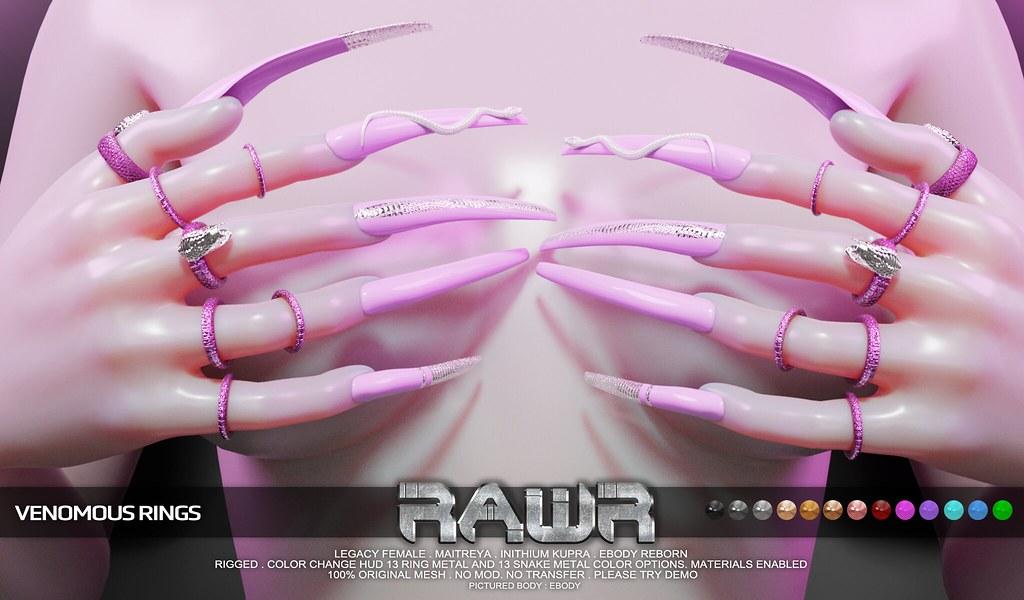 RAWR! Venomous Rings PIC