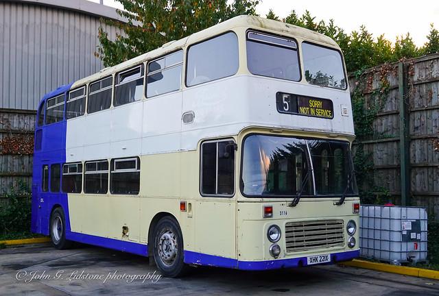 Privately preserved Eastern National Bristol VRT/SL3/6LXB / ECW 3116, XHK 221X