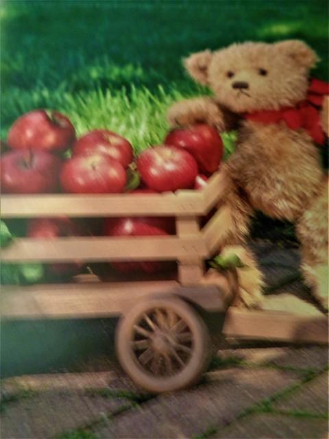 TEDDY BEARS LOVE APPLES